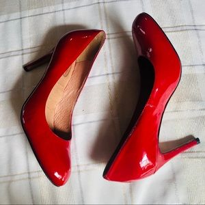 Coral Cosmo Red Heels